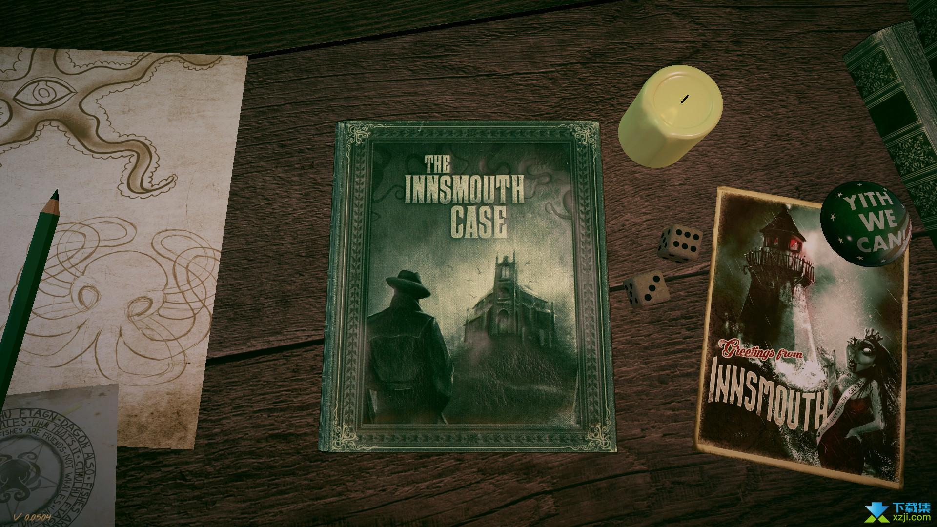 印斯茅斯谜案界面