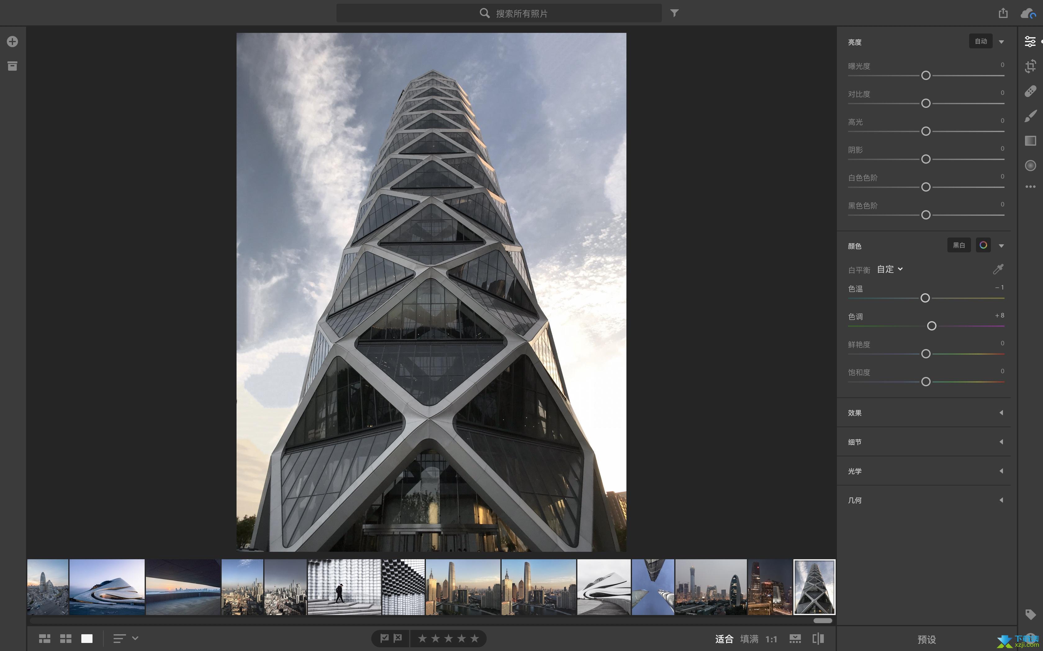 Adobe Photoshop Lightroom Classic界面2