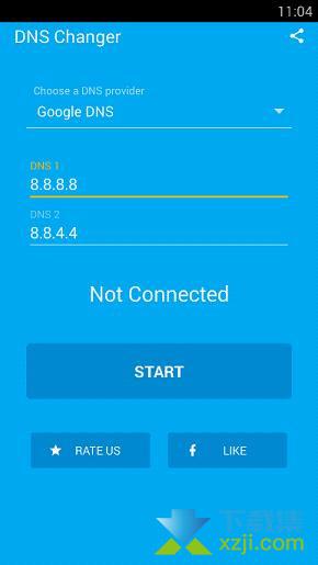 DNS Changer Pro界面