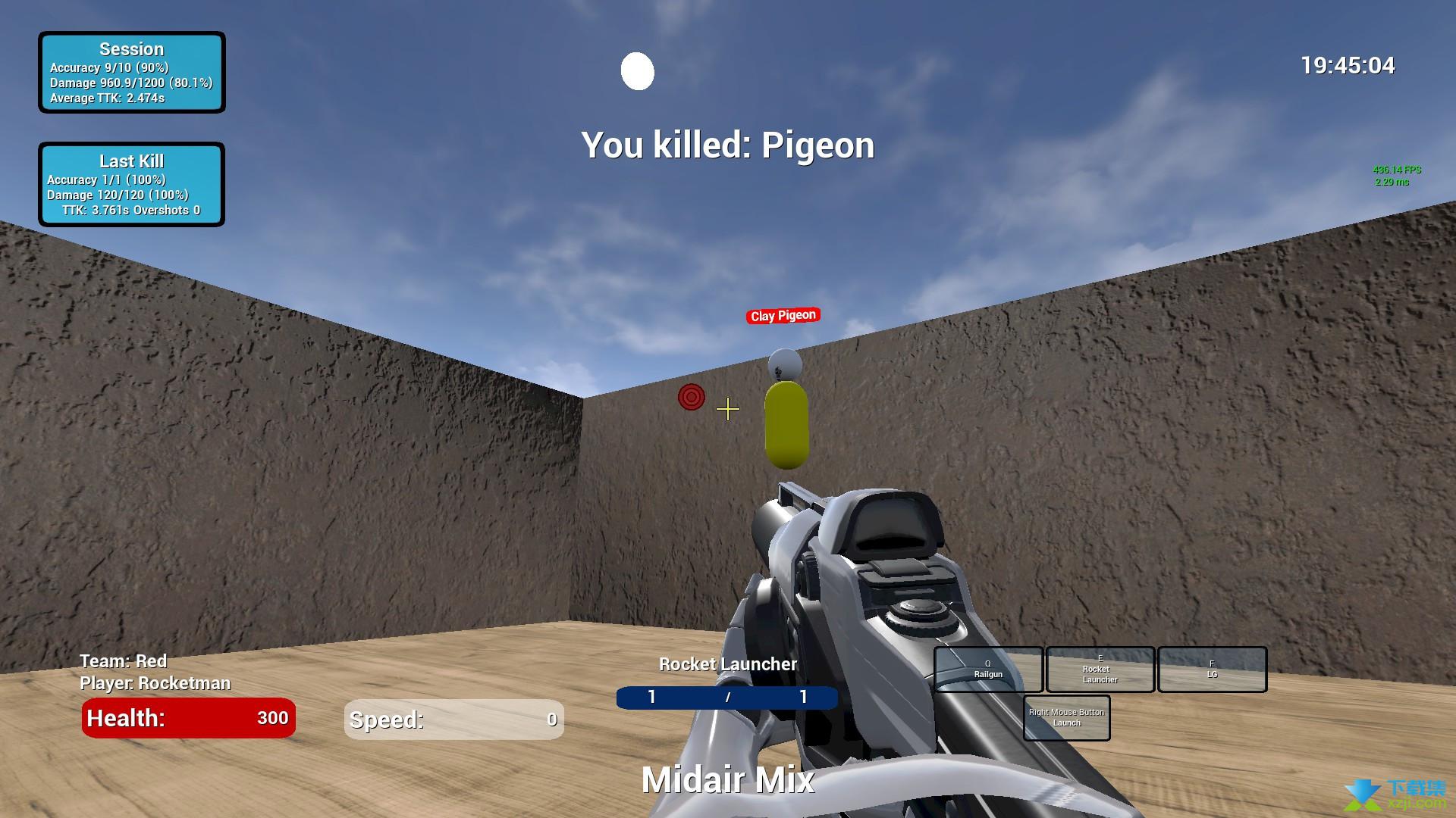 KovaaK的枪法练习器界面2