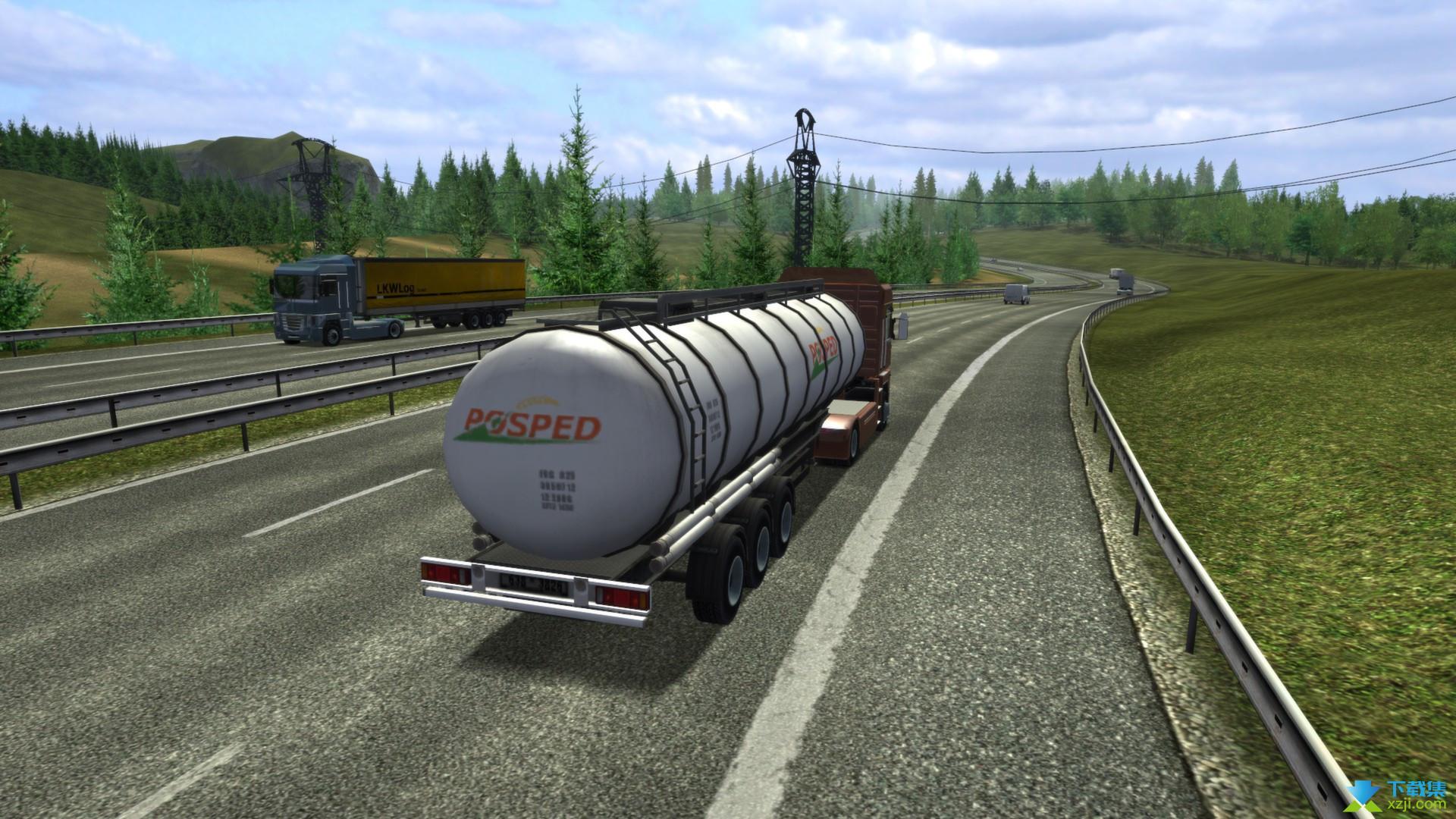 欧洲卡车模拟界面1