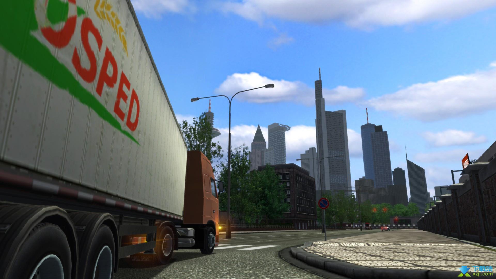欧洲卡车模拟界面3