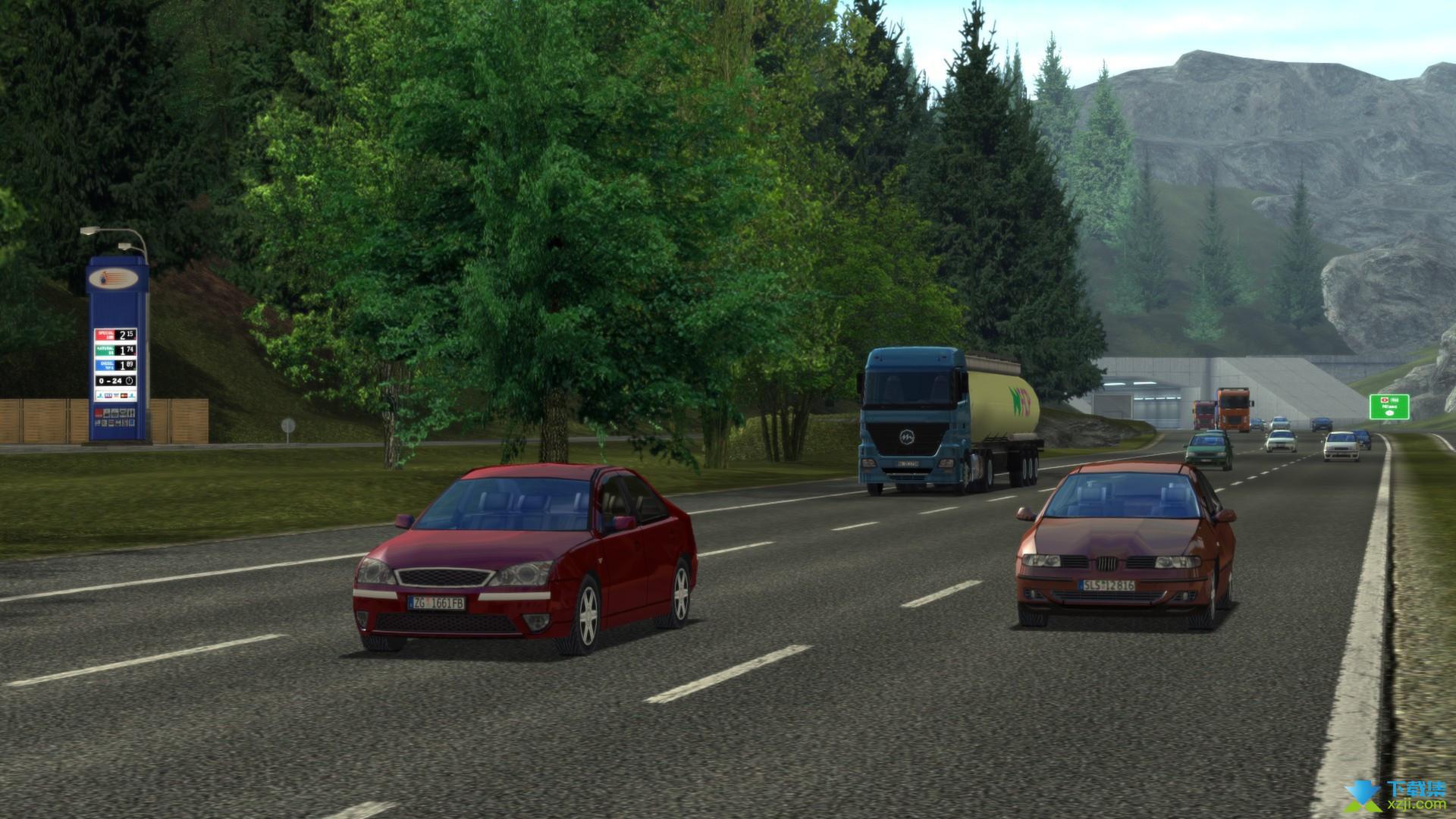 欧洲卡车模拟界面4
