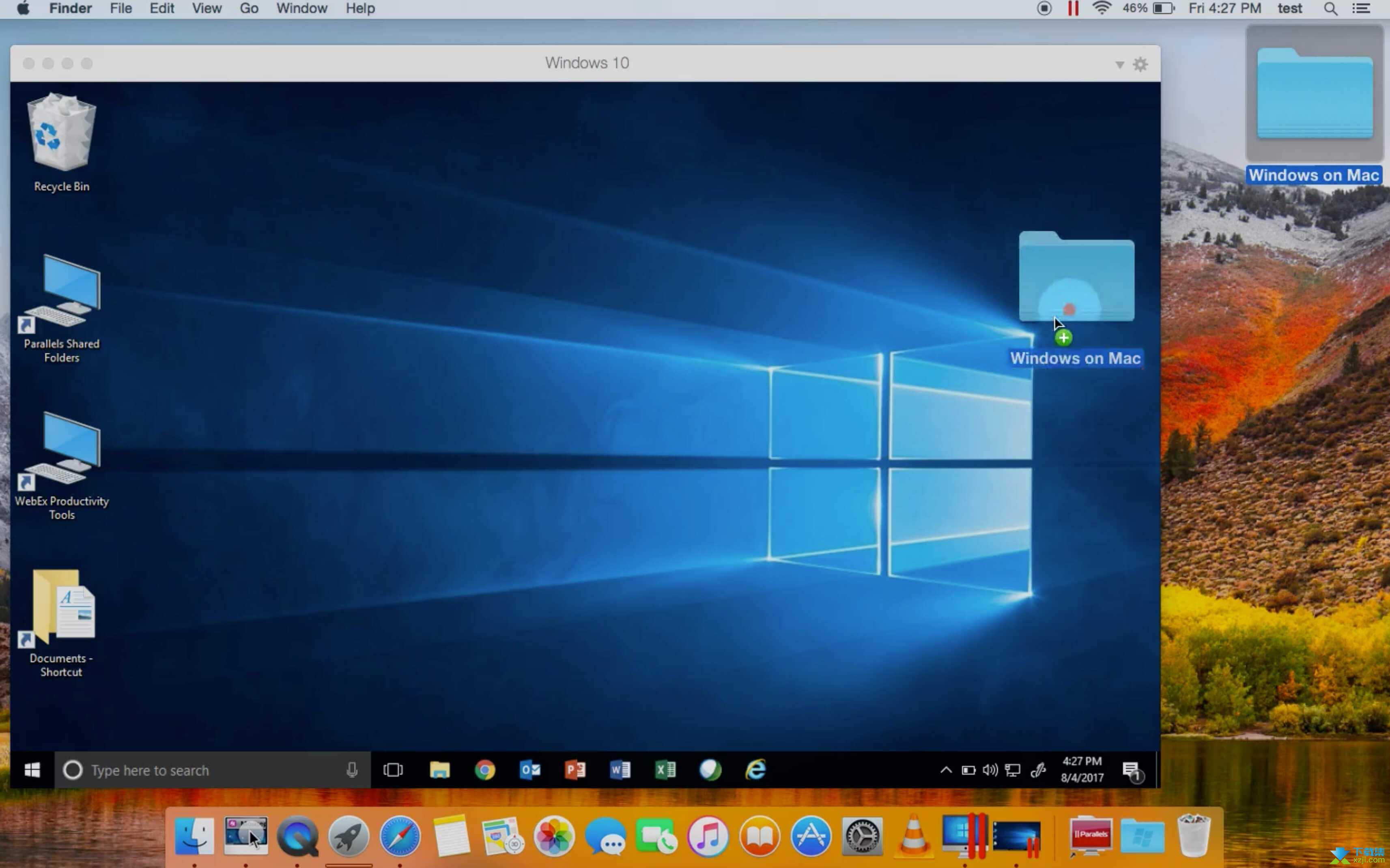 Parallels Desktop界面1