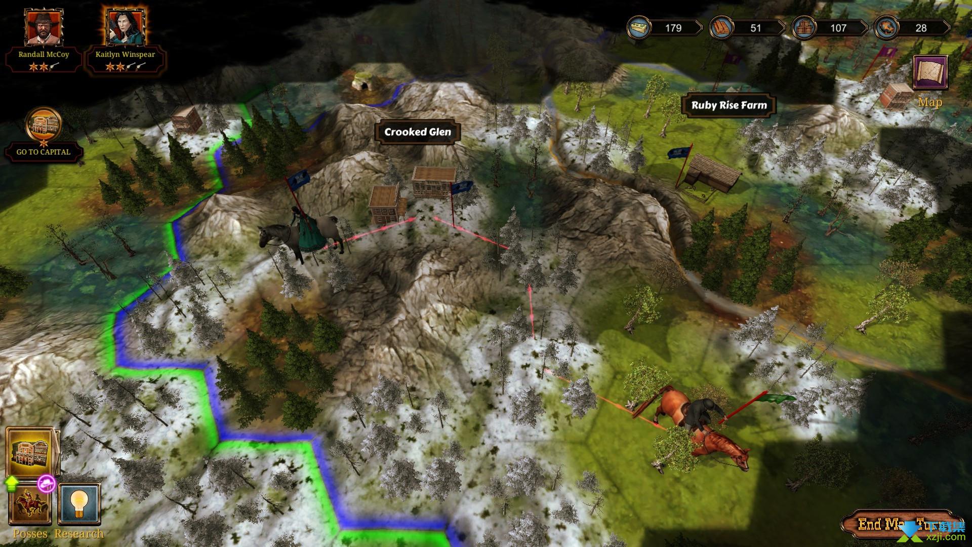 世仇狂野西部战术界面3