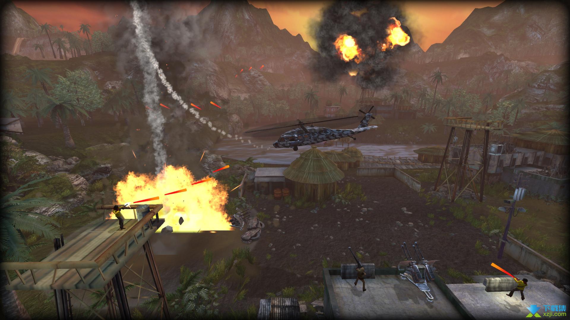 直升机救人高清版界面
