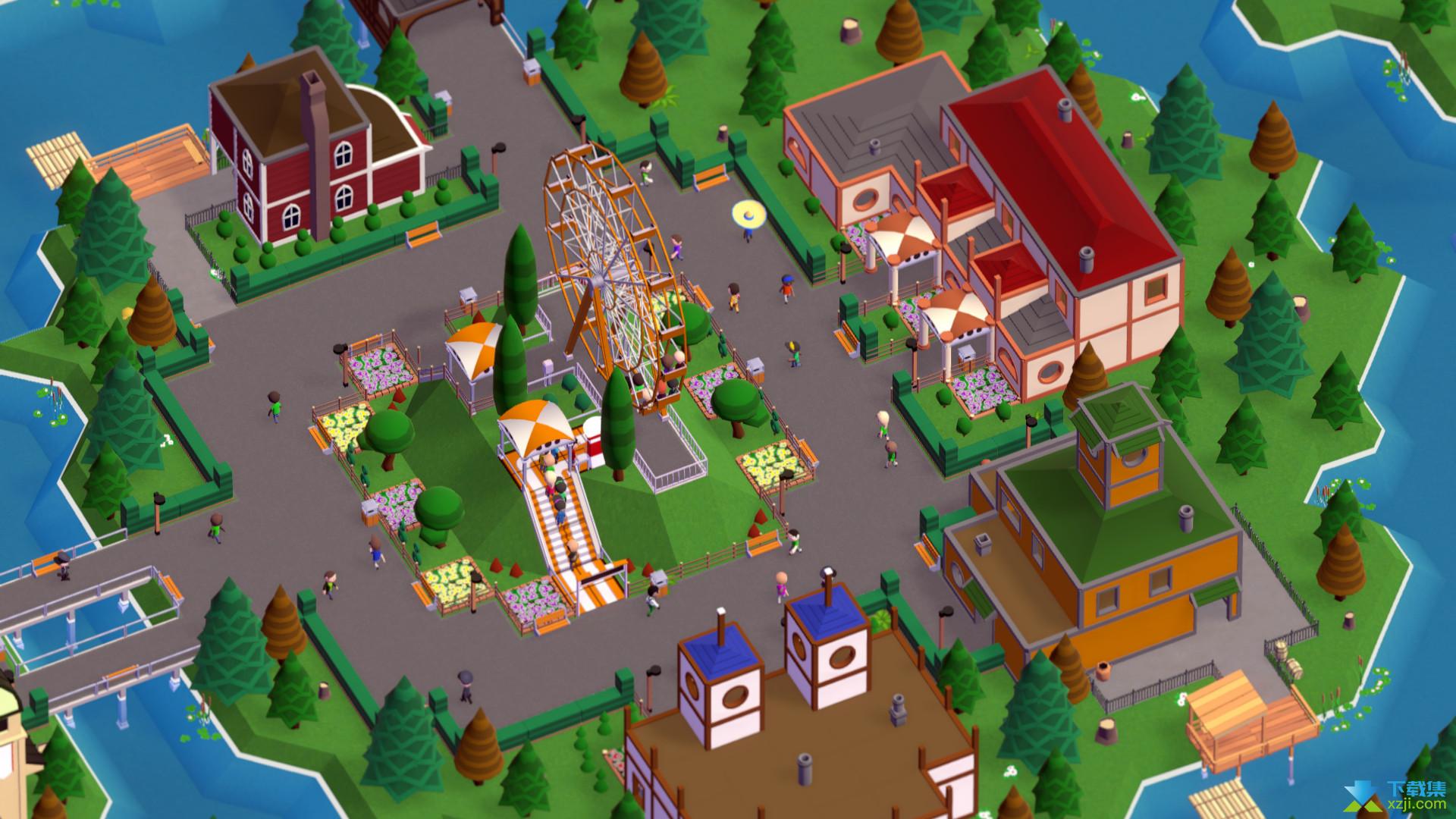 游乐园建造师界面1