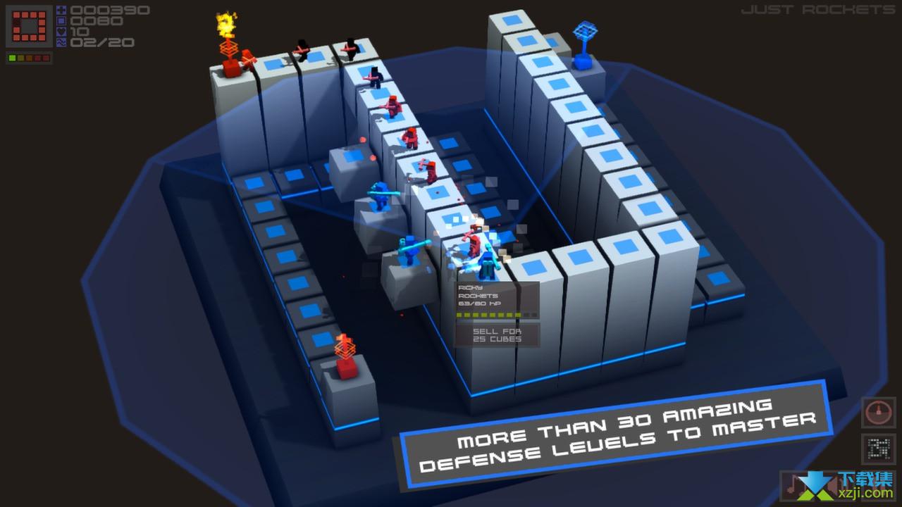 立方塔防界面3