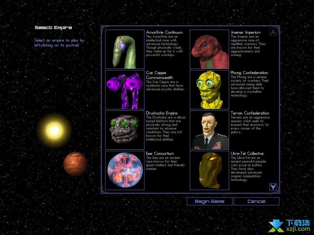 太空帝国IV界面2