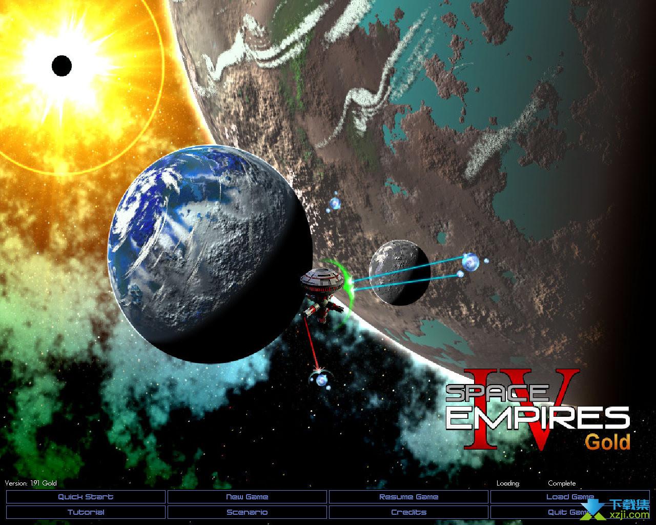 太空帝国IV界面4