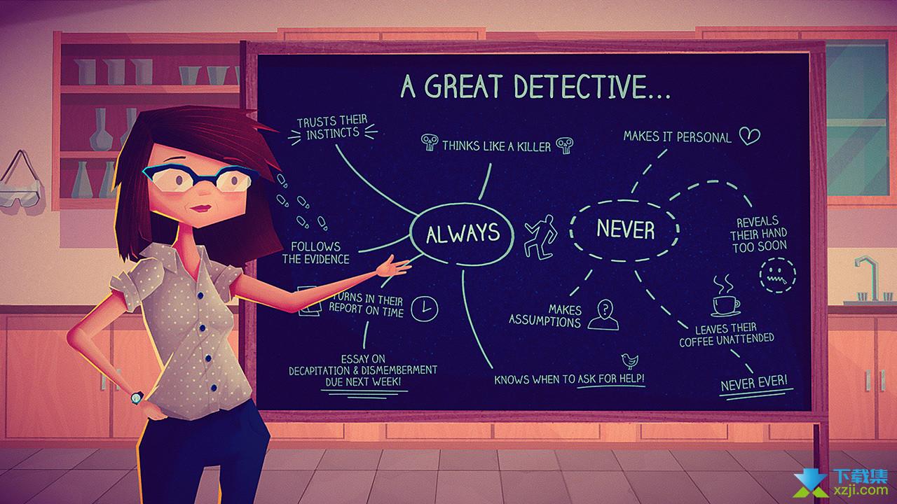 珍妮的线索小侦探界面3