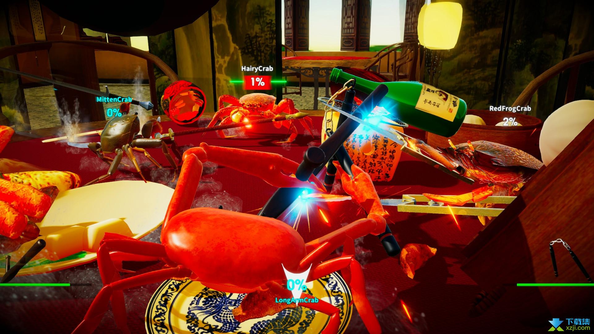螃蟹大战界面4