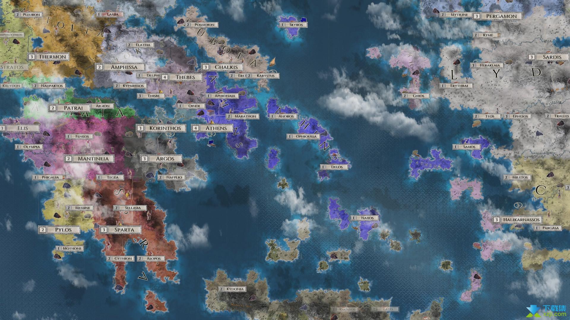 帝权希腊战争界面