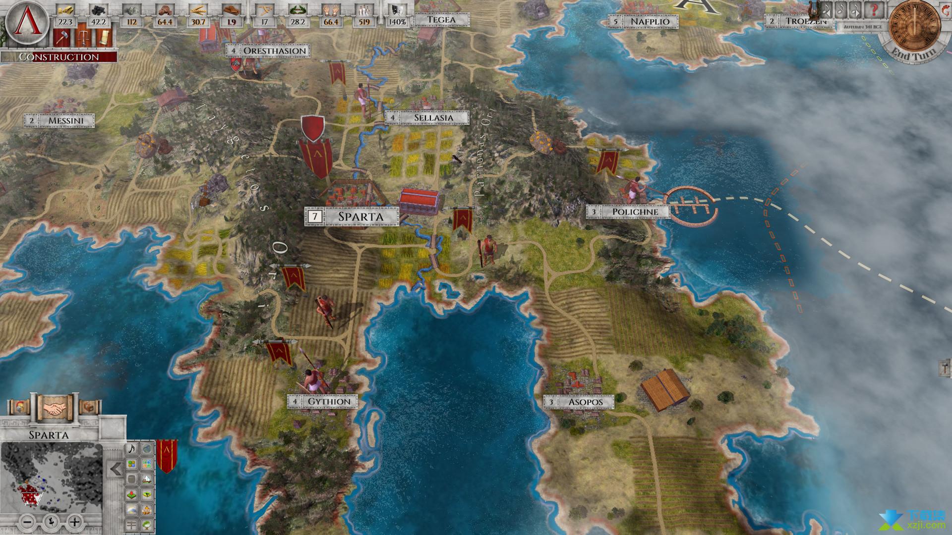 帝权希腊战争界面1