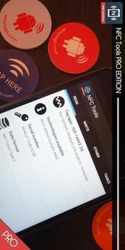 NFC Tools Pro界面