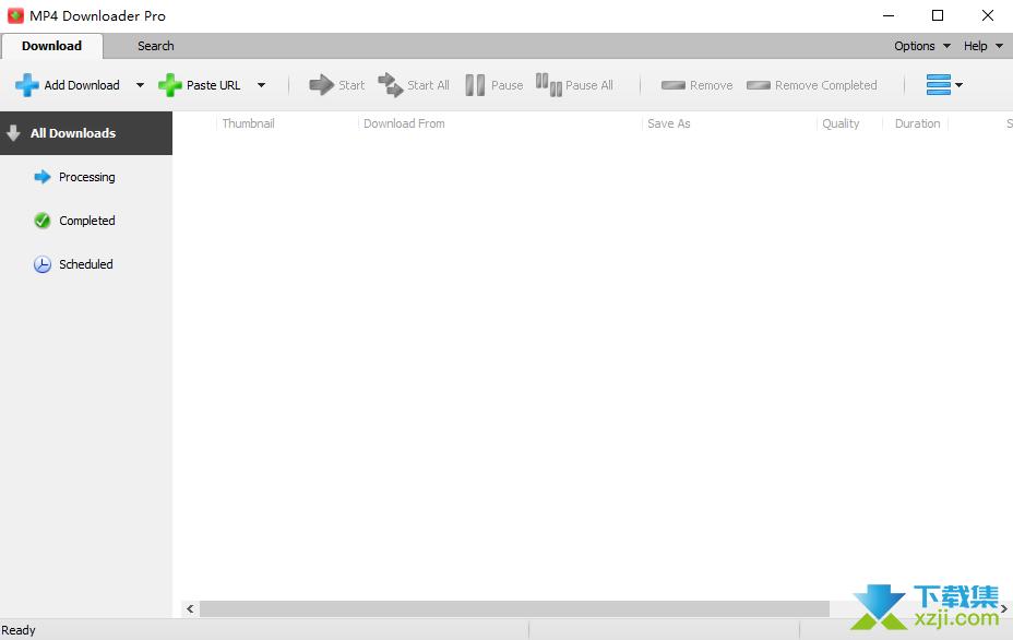MP4 Downloader Pro界面