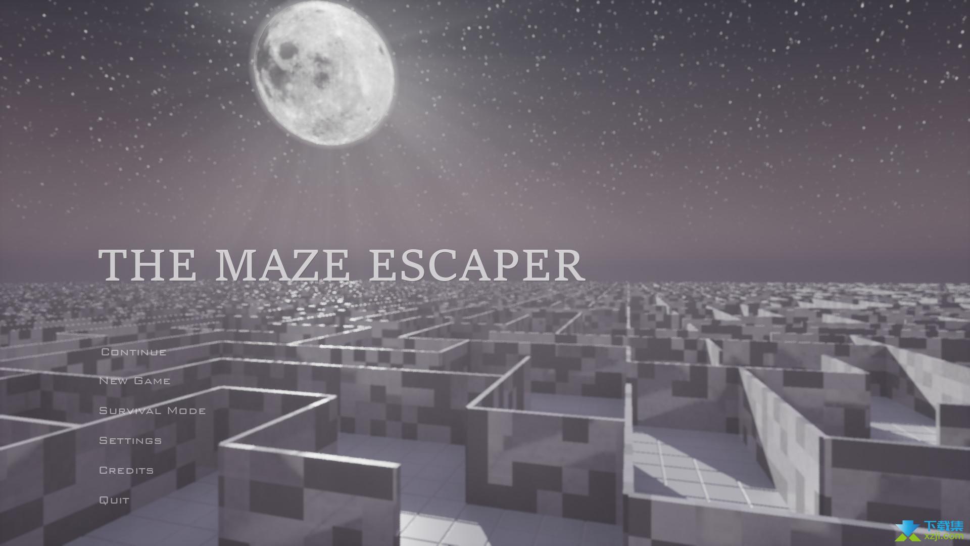迷宫逃亡者界面1
