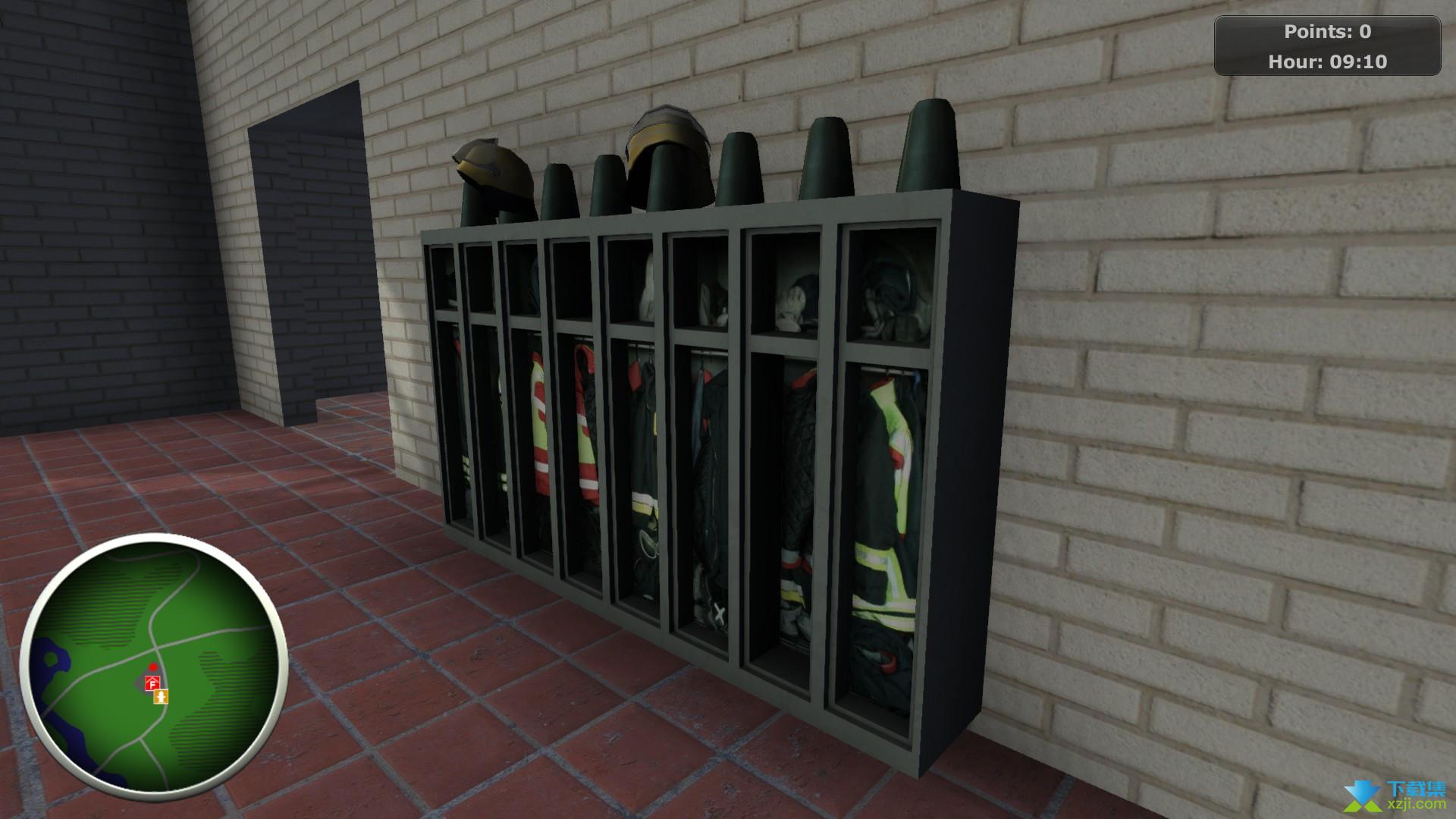 消防员模拟界面1
