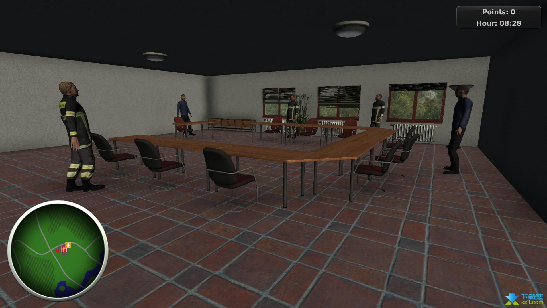 消防员模拟界面4