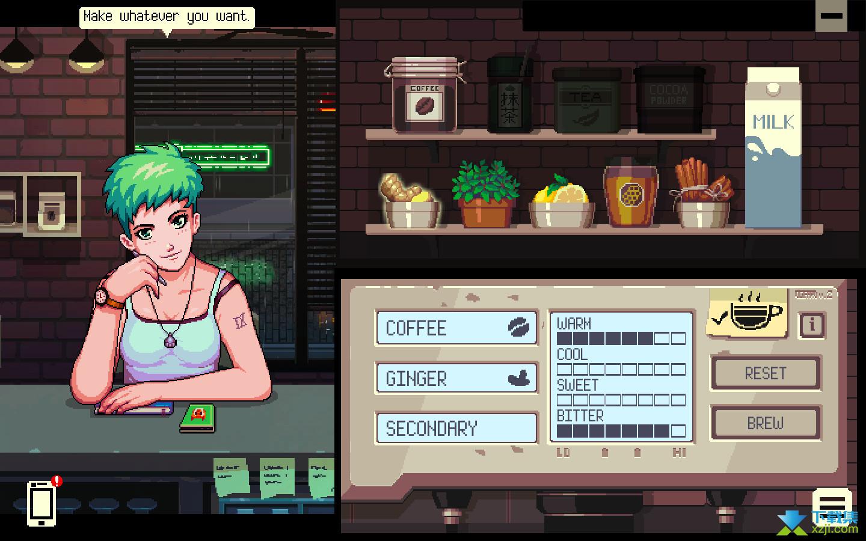 Coffee Talk界面2