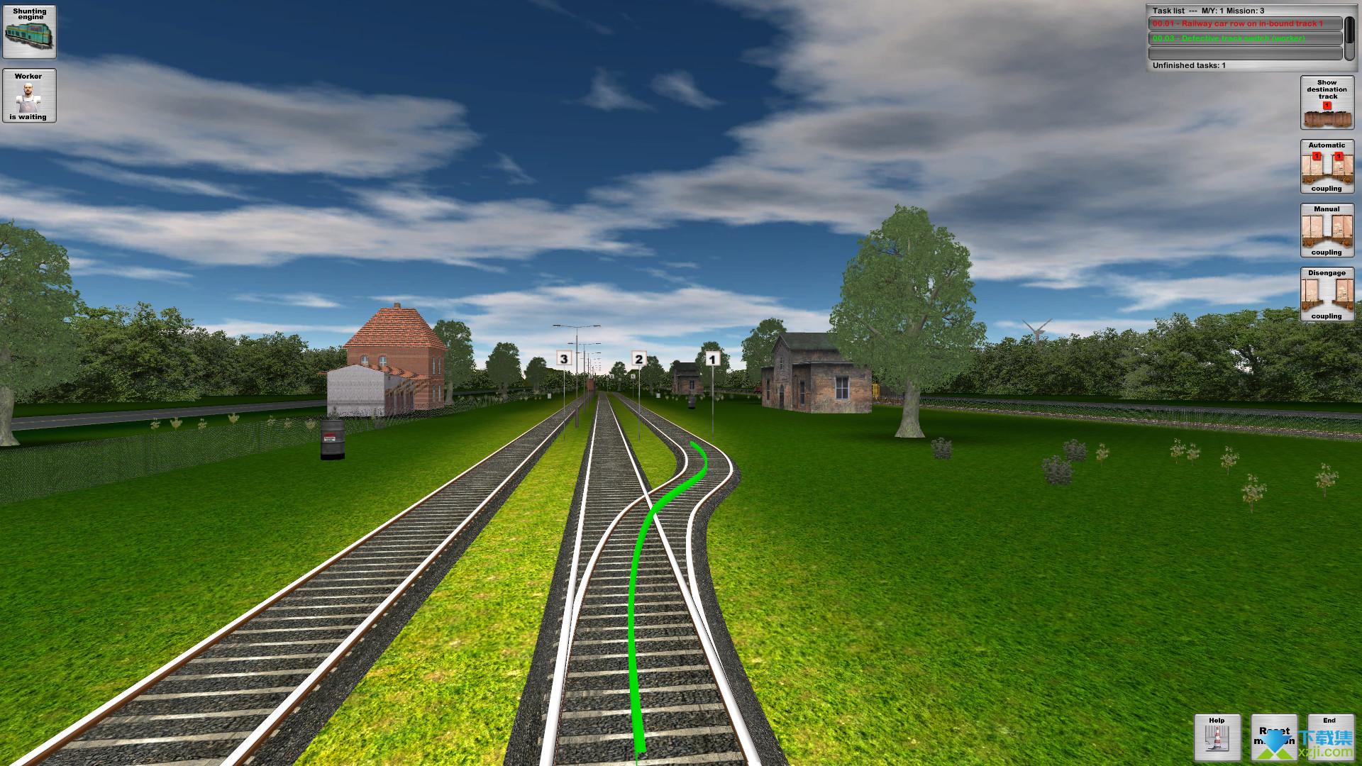 铁路货运模拟界面3
