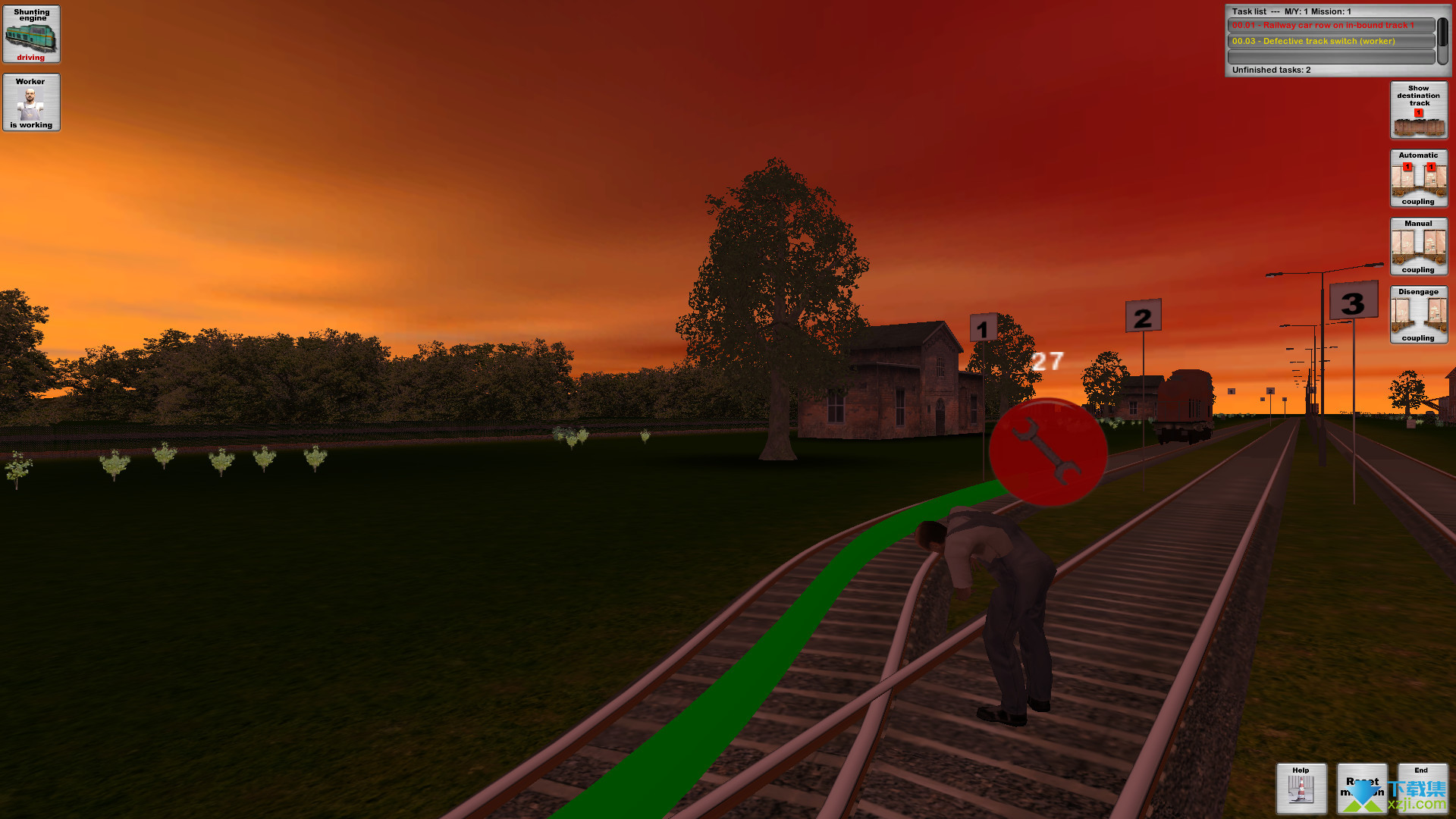 铁路货运模拟界面4