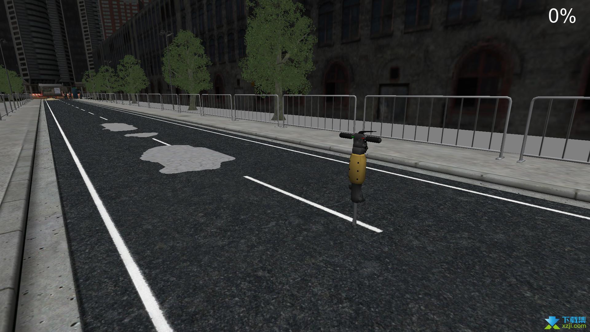 道路工程模拟界面2