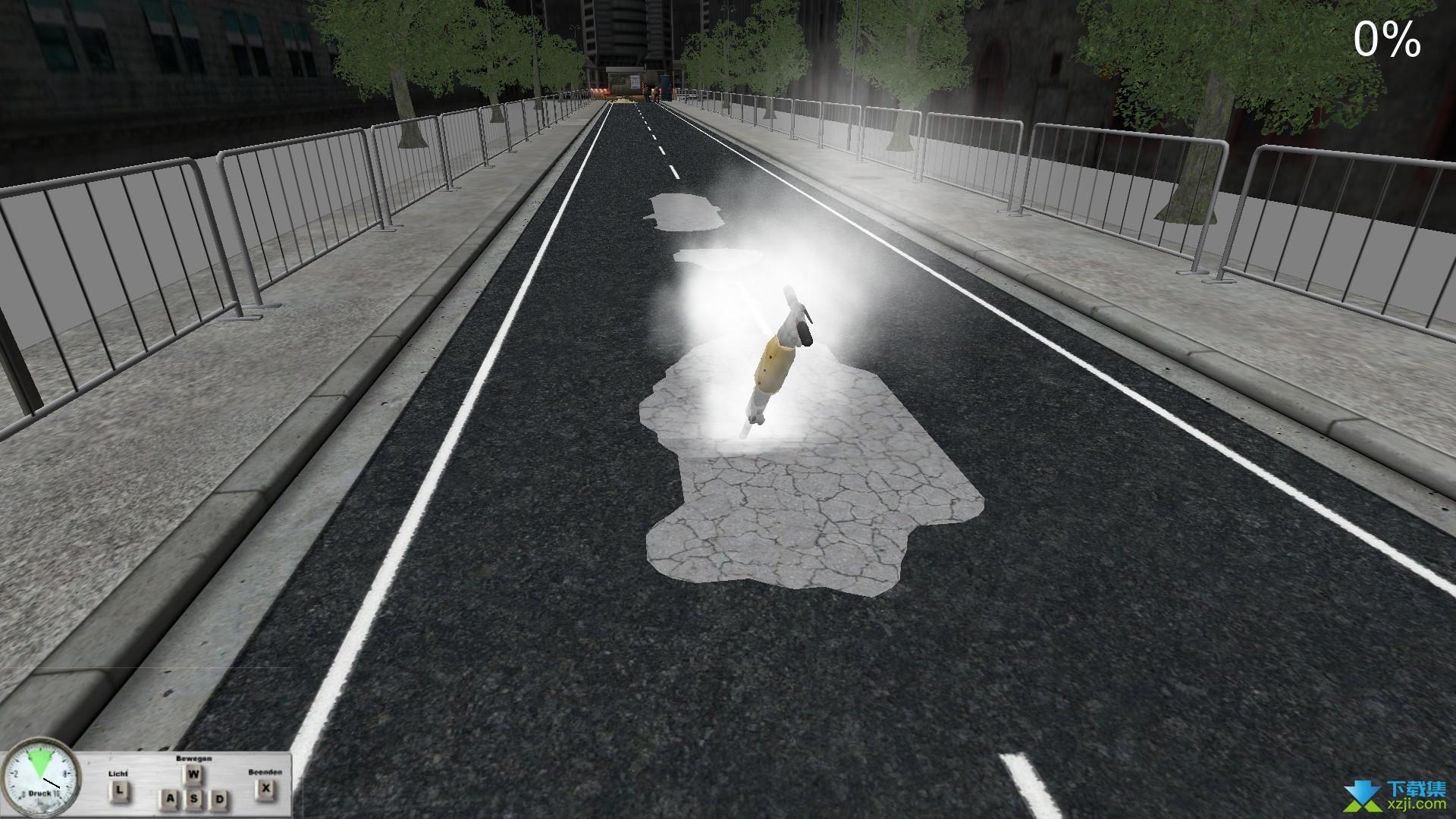 道路工程模拟界面4
