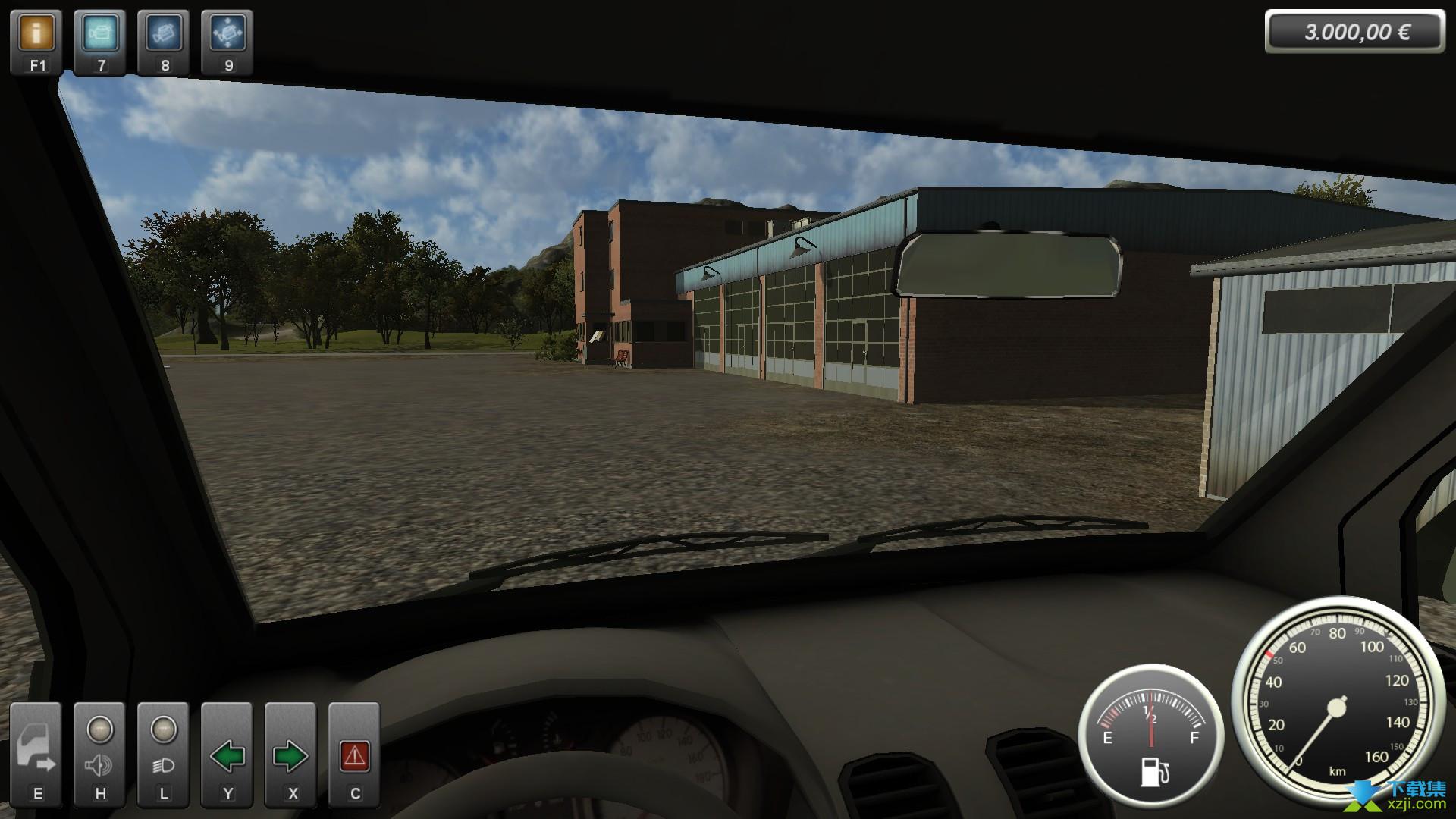 专业模拟建设界面2