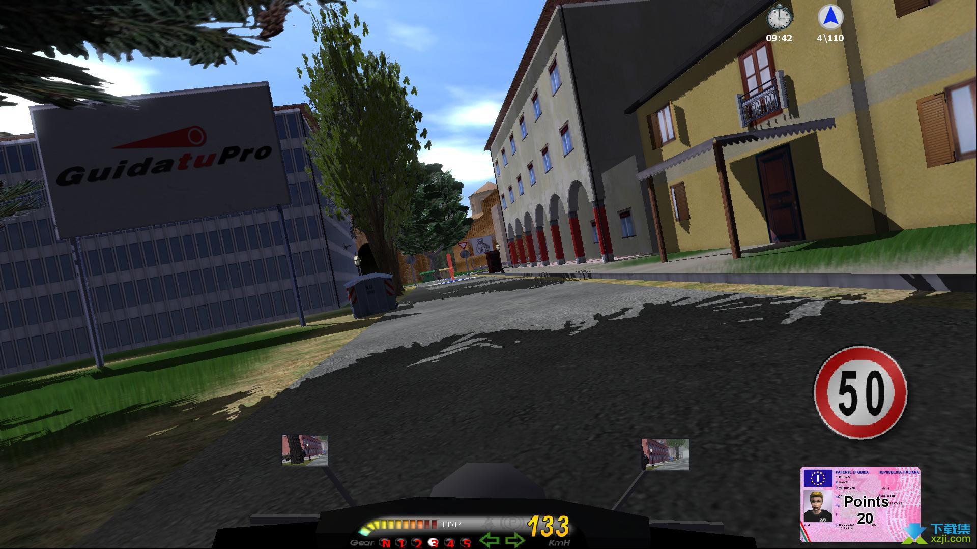 安全驾驶模拟摩托界面3