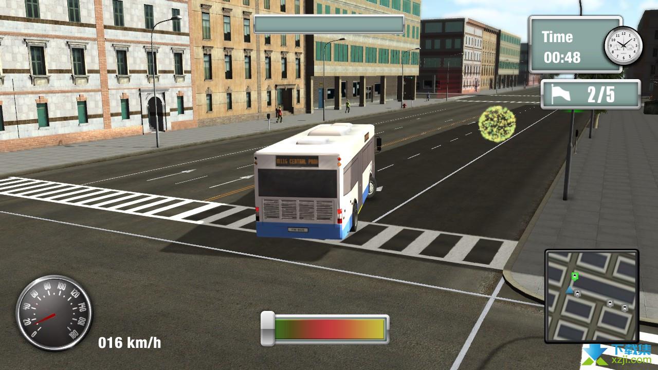 纽约公车模拟界面1