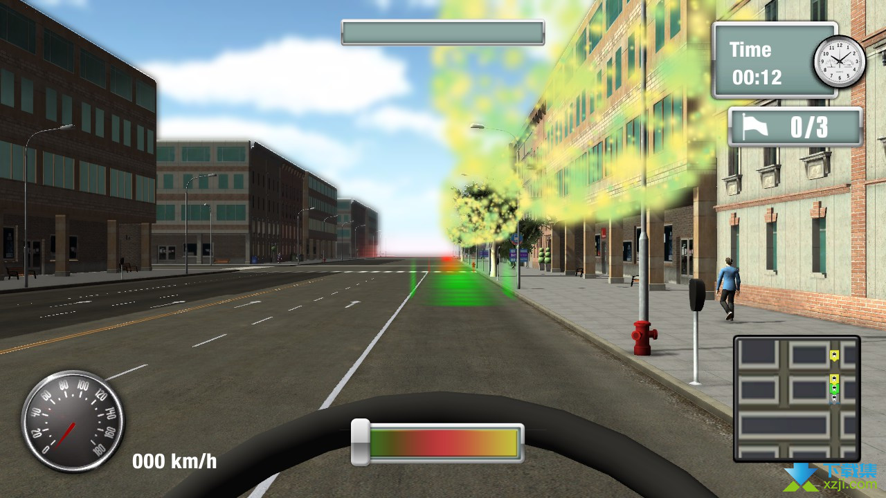 纽约公车模拟界面3