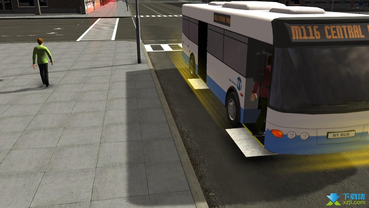 纽约公车模拟界面4