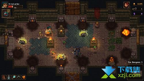 《地下矿工》游戏中沙之女王塞特打法介绍
