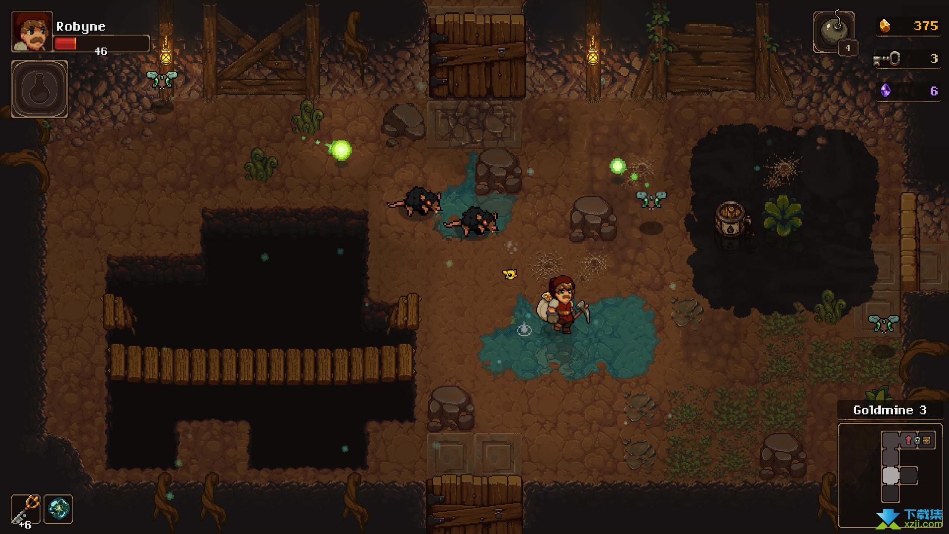 地下矿工界面