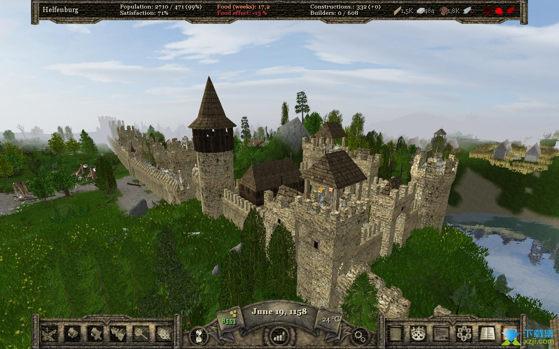城堡的世界界面1