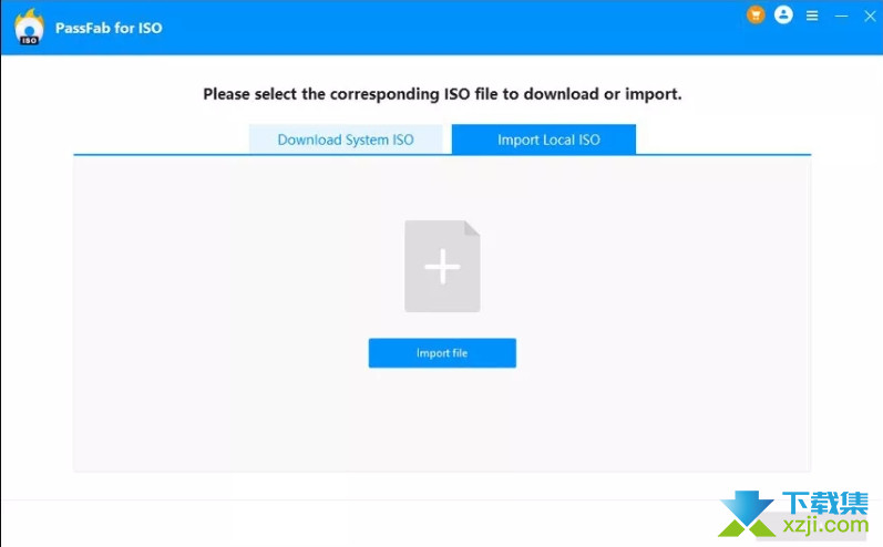 PassFab for ISO界面1