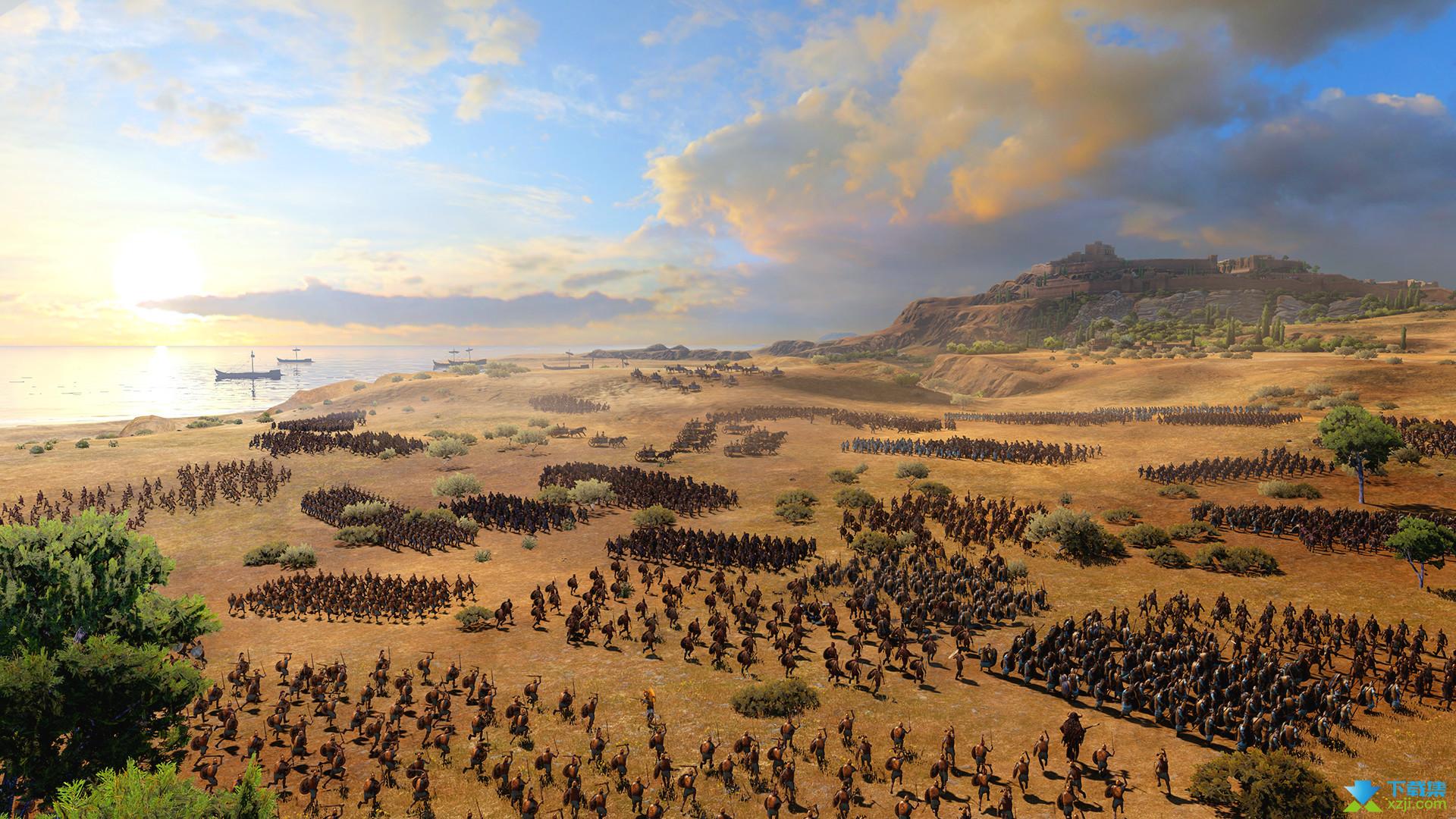 全面战争传奇特洛伊界面3