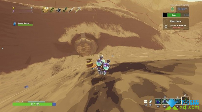 《雨中冒险2》游戏中第二关隐藏区域位置在哪