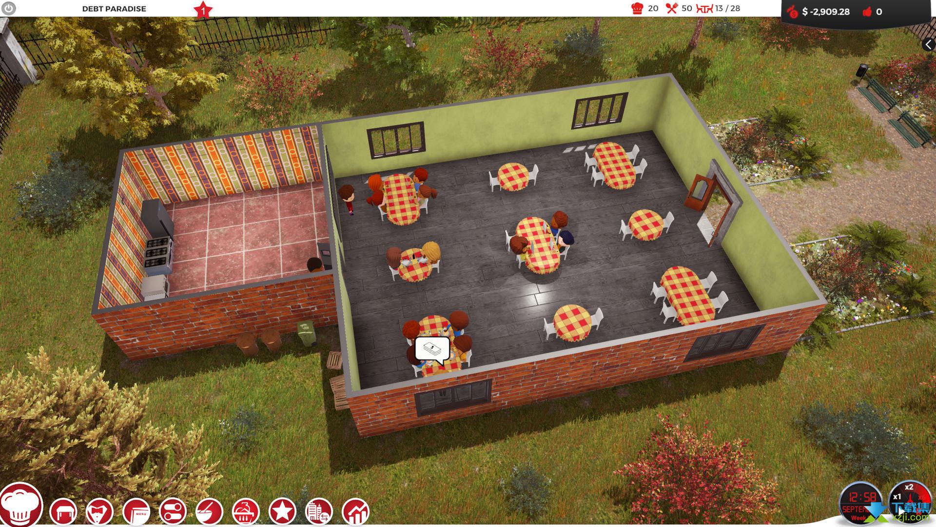 厨师餐厅大亨界面2