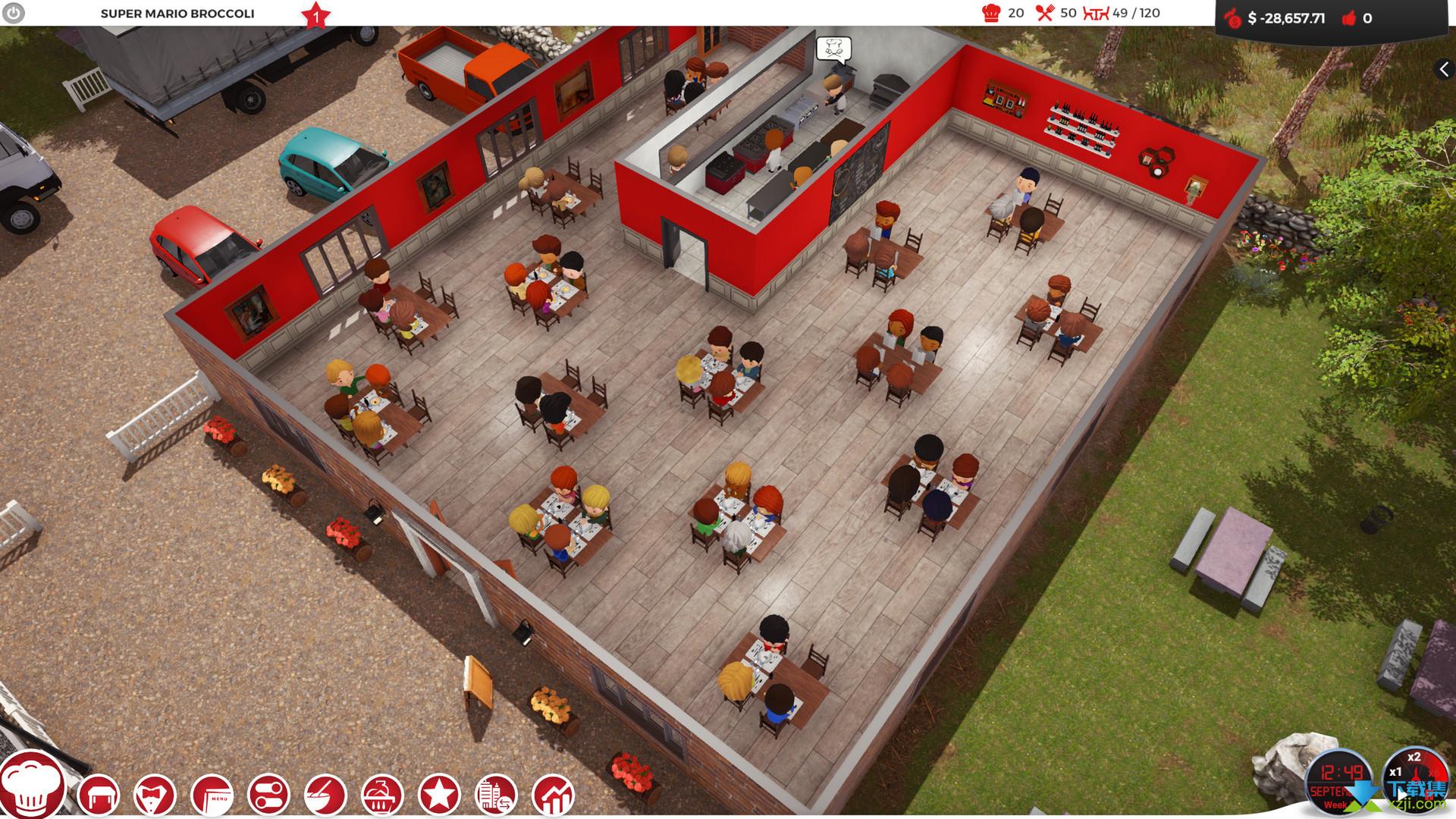 厨师餐厅大亨界面4