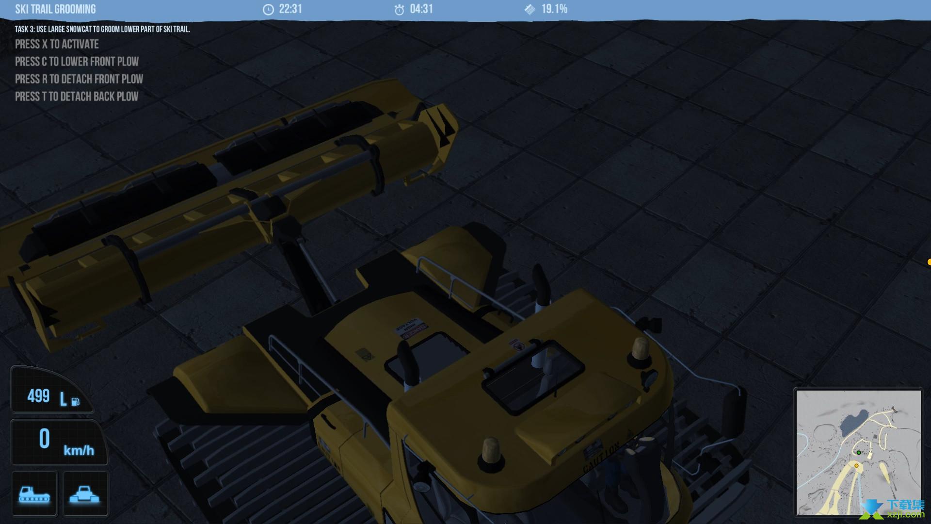 雪地履带车模拟2011界面4