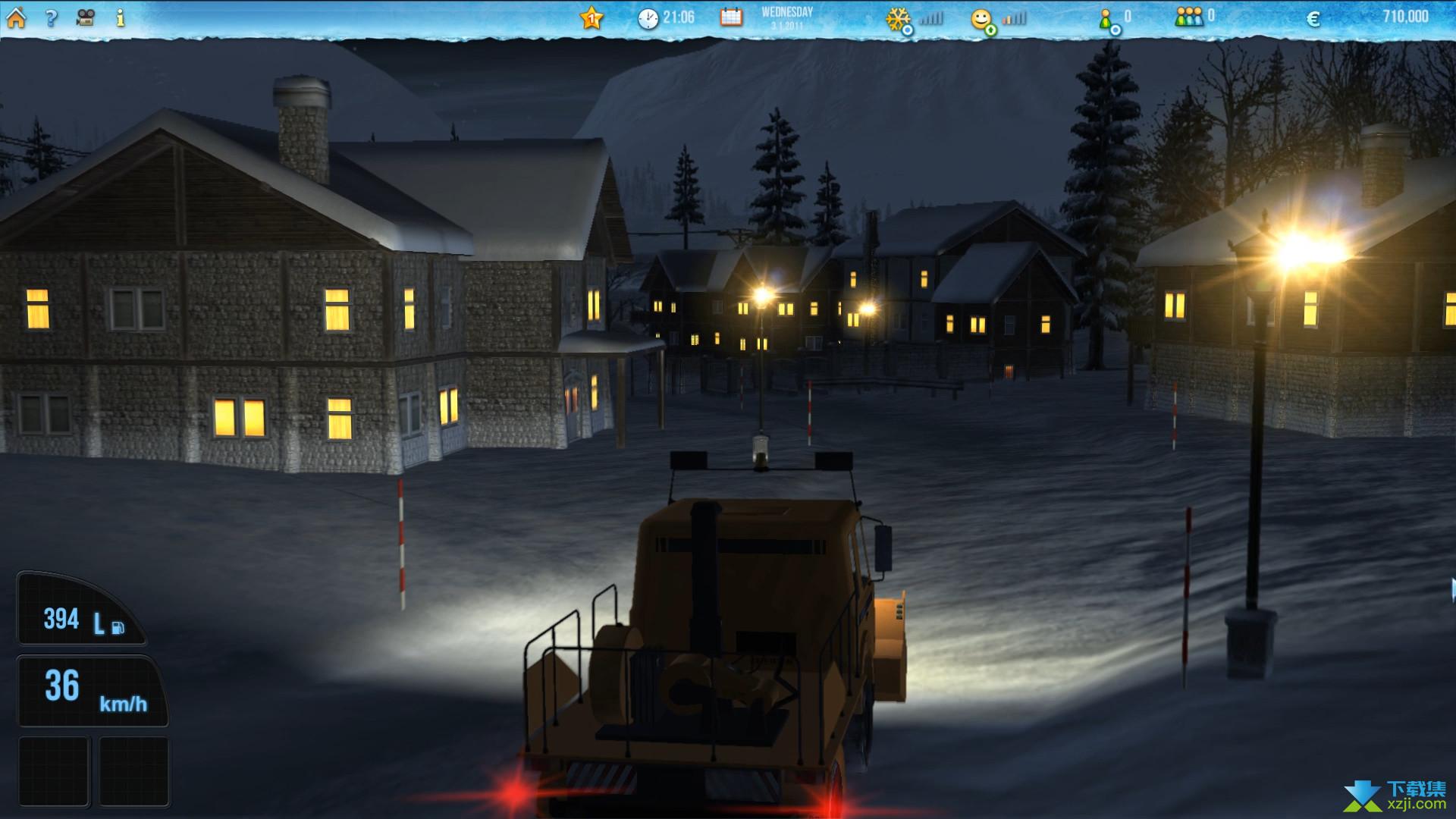 滑雪世界模拟界面1