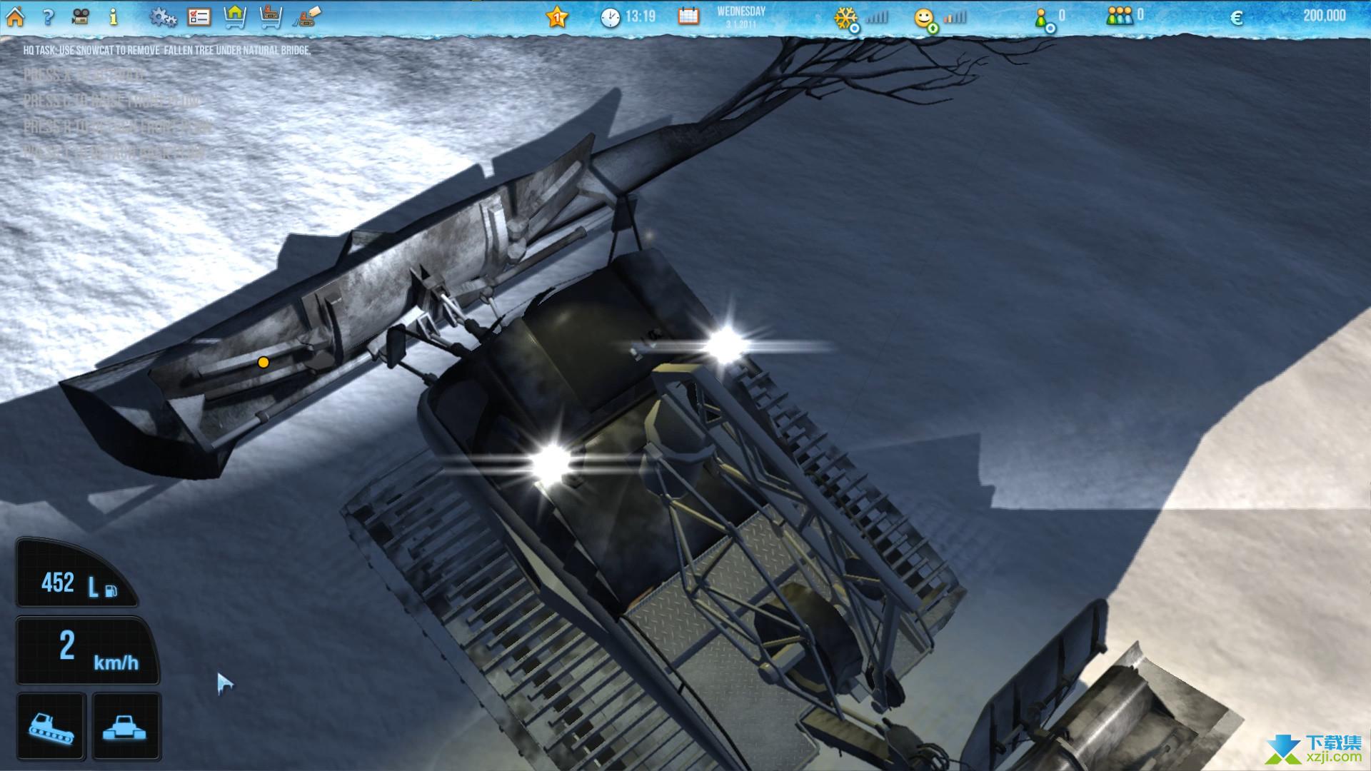 滑雪世界模拟界面3