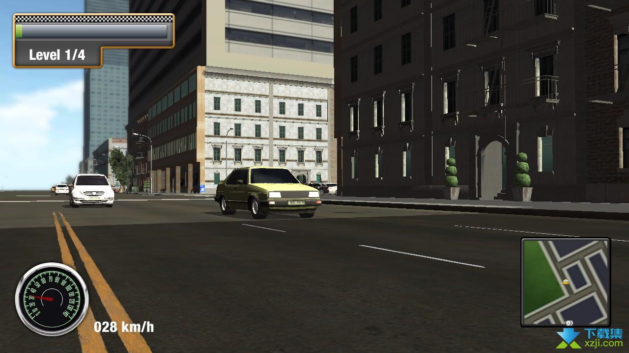 纽约城市出租车模拟界面1