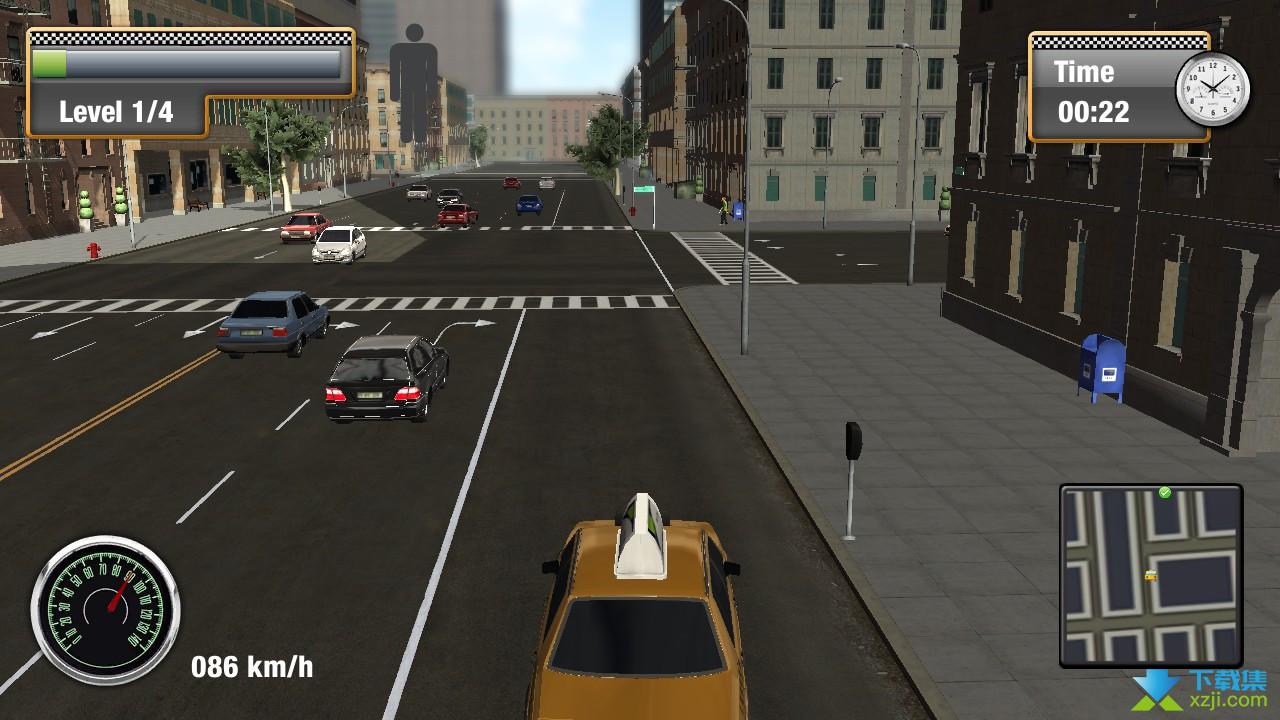纽约城市出租车模拟界面2