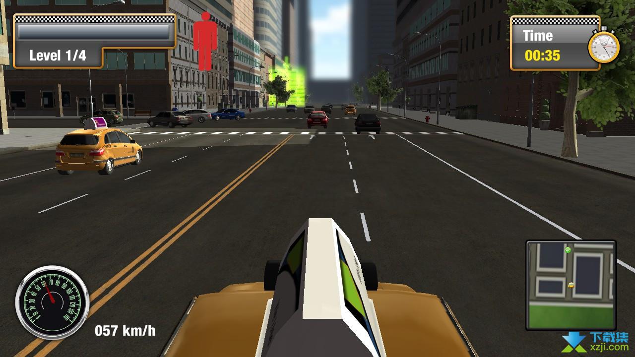 纽约城市出租车模拟界面3
