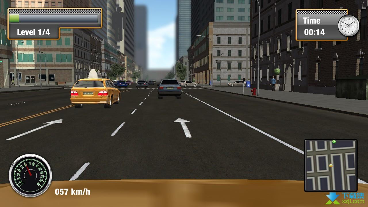 纽约城市出租车模拟界面4