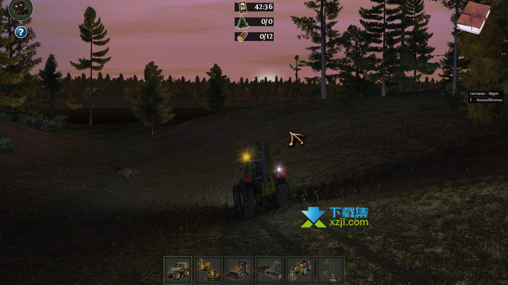伐木工模拟2011界面1