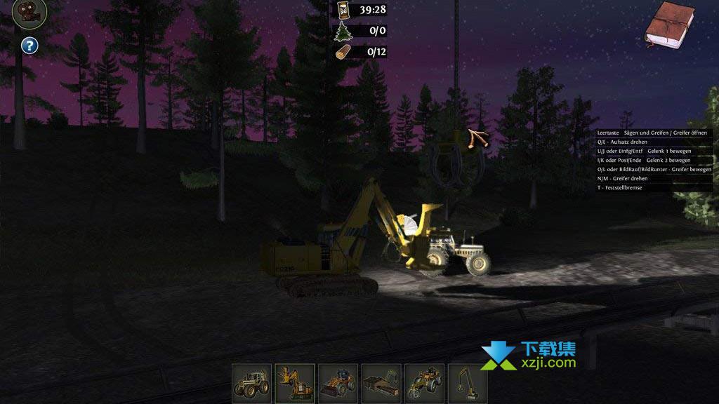 伐木工模拟2011界面2